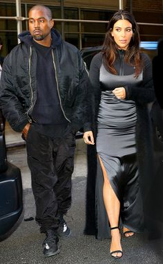 Kim Kardashian & Kanye West from The Big Picture: Today's Hot Pics  The power couple is seen at JFK.