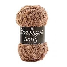 Scheepjes Softy Garn einfarbig 480 Hellbraun - Ritohobby.de Drake, Winter Hats, Stuff To Buy, Products, Amigurumi, Fabric Animals, Masks, Threading, One Color