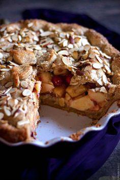 Cranberry Almond Apple Pie   URBAN BAKES