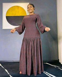 African Maxi Dresses, Latest African Fashion Dresses, African Dresses For Women, African Print Fashion, Africa Fashion, African Attire, African Wear, Lovely Dresses, Elegant Dresses