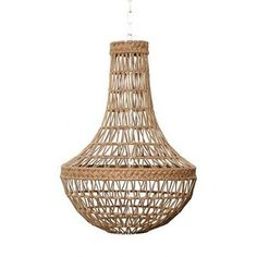 Image of Rope Chandelier. Option for over dining table