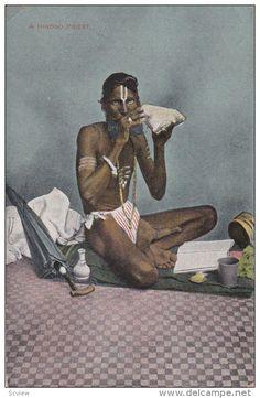 A Hindoo Priest , Port of Spain , Trinidad , 00-10s