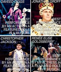 hamilton's sixteen tony nominations