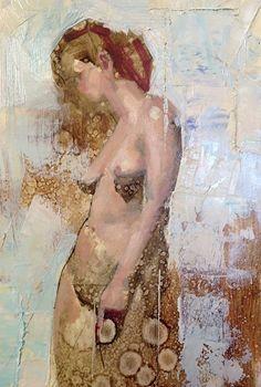 "Rebecca by John Wentz Oil ~ 7"" x 4.5"""