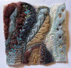 Little gem Miniature textile art via Etsy