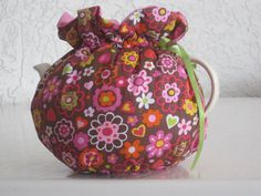 Summertime Cosy Filled with Flowers Fits 4 to 6 Cup by CosyKozees, $19.99