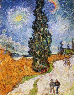 Cipreses. Van Gogh