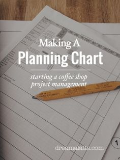 Making a Planning Chart