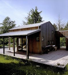 Photo: Torben Eskerod via lifestyle architecture I absolutely love this Danish cabin in Orderup Næs, designed by architects Hann...