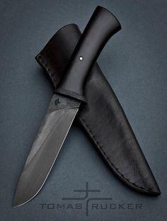 Tomas Rucker camp knife: