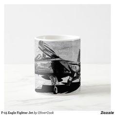 F-15 Eagle Fighter Jet Coffee Mug