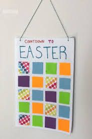 Help kids get ready for Easter with this cute Countdown to Easter Felt Calendar. Check out all the cute ideas for filling your countdown calendar. Easter Countdown, Countdown Calendar, Felt, Google, Felting, Felt Crafts