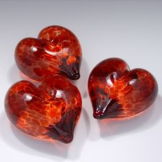 Dale Chihuly  PAPERWEIGHTS | Heart of Glass Valentine Paperweight by KitPaulson