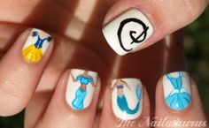 Disney Princess nails!