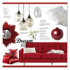 """Dream Living Room Under $1000"" by oregonelegance ❤ liked on Polyvore featuring interior, interiors, interior design, home, home decor, interior decorating, Dolan, INC International Concepts, Home Decorators Collection and Ballard Designs"
