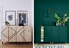 DIY: Slik skaper du blikkfang med et IKEA-skap