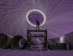 Photo essay: Sparks fly from Winnipeg's wild wool #photography #photo http://www.macleans.ca/society/life/photo-essay-sparks-fly-from-winnipegs-wild-wool/