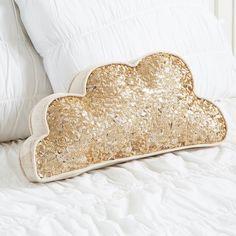Sequin Cloud Pillow   PBteen
