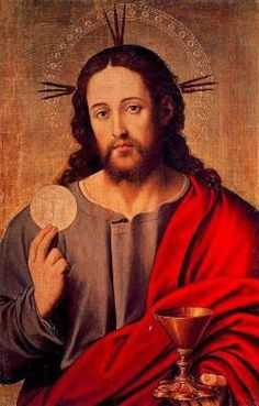 Christ extending Chalice and Host