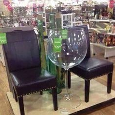 Is it too early to put this wine glass on my Christmas list?