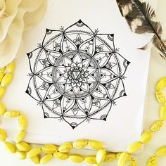 SOLAR PLEXUS (Manipura Chakra)  Passion  Drive  Self Confidence  The Third Chakra in my Chakra Mandala series. . @create.your.radiance http://www.karlapizzica.com