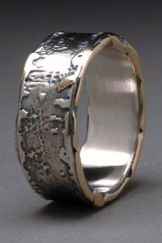 Moss Band by Wendy Thurlow of Bradenton, FL. 2015 NICHE Awards Finalist. Category: Jewelry- Wedding #ring, #weddingring