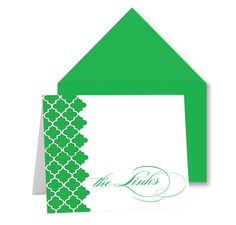 """Lady Link (white)  $18.00     Friendship and social service are what The Links, Inc. are all about.  These fold-over notecards are perfect for you and the other Links in your life.   10 card set {4.25""""x5.5""""}"""