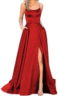 Stunning Prom Dresses, Pretty Prom Dresses, Black Prom Dresses, Formal Dresses, Simple Prom Dress, Red Prom Dresses, Red Bridesmaid Dresses, Long Prom Gowns, Short Prom