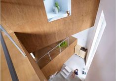 The Suppose Design House in Fukawa Encases Cantilevered Spaces #treehouses trendhunter.com