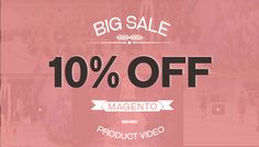 Do you want to upload videos to get more sales? You will reget if you DON T click link below. Just spend 2 minutes to know all things about Magento Product Video Extension. A good product make admin easy to upload many video from others source. It s very easy to make your customer remember and buy more product after watching a video. We will discount 10% for 15 peole lucky with coupon code is MPVE15 The post Email Marketing product video Magento