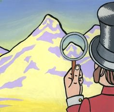 "Alisa Perks: Illustrations: ""Marmaduke Finds Everest"", gouache on paper."