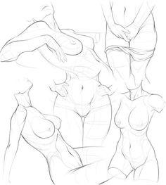 Bendrolet Sketches22...@yan_chuan采集到线稿_人物动态(1685图)_花瓣