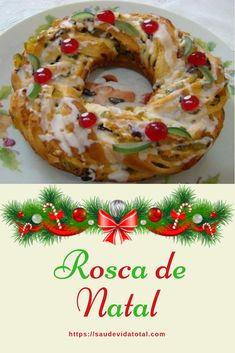 Christmas Food Treats, Xmas Food, Christmas Baking, No Bake Desserts, Delicious Desserts, Yummy Food, Special Bread Recipe, Diy Food Gifts, Portuguese Recipes