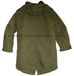 FishtailParkas.com The Classic M-1951 Model Fishtail Parka