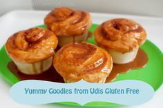 Our #glutenfree Cinnamon Rolls will make your mouth water! :)