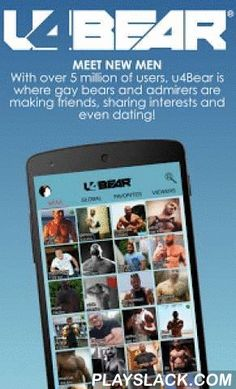 U4Bear Gay Bear Social Network  Android App - playslack.com ,  Every day millions of messages are exchanged by gay guys, bisexual or curious using u4Bear: the gay social network for smartphones, tablets and computers around the world, with over 6 million registered users. Whether you are looking for sex, dating, friends or a partner, you found it on u4Bear, a simple and very complete app. Also, you can visit places and events that may interest you with our complete updated guide. Search…