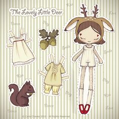 The Lovely Little Deer* by ♥ ribonita ♥ (catching up), via Flickr