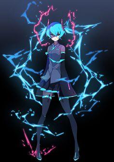 Vocaloid, Hatsune Miku, Lightning