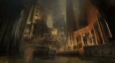 ArtStation - Cyria Gardens/ Dishonored 2, Piotr Jabłoński