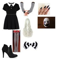 """""""Fnaf Marionette cosplay"""" by shelbysovde on Polyvore featuring Alexander Wang and Freddy"""