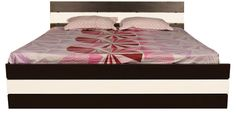 Zoom King Bed with Manual Storage in Wenge Colour by Asis Furniture at discounted price of 20895 than 29449 rs -Pepperfry - vskart.in