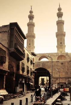 Bab Zuwayla - Southern Gate - historical building in Cairo, Egypt