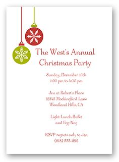 make free printable christmas party invitations holiday invitations - Free Christmas Party Invitation Templates