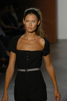 Bianca Balti- love the cut of this dress!