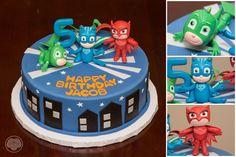 Disney's PJ Masks cake.