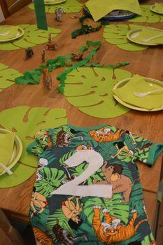 Geburtstagsparty Dschungel, Familienleben
