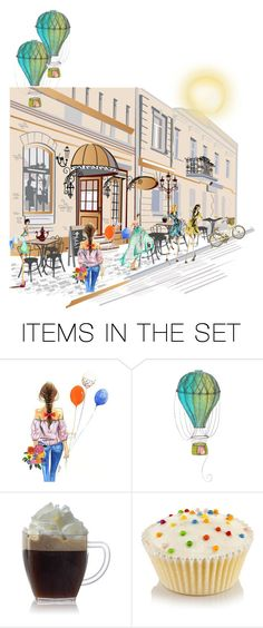 """""""Small Street"""" by herestoteenagememories ❤ liked on Polyvore featuring art"""