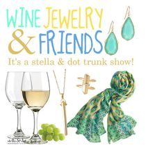 """Wine jewelry & friends Stella & dot"" by jennifoster on Polyvore"