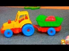 Мультфильм про маленький трактор. Детская передача Учимся Вместе. - YouTube