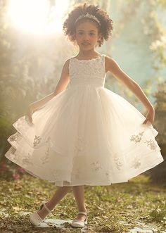Cinderella Collection 1 | Alfred Angelo Flower Girl Dresses | Disney's Fairy Tale Weddings & Honeymoons